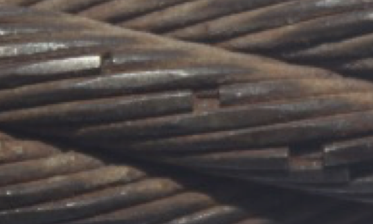 Wire Rope Fatigue Breaks